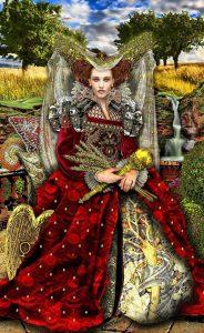 The Empress - Tarot Illuminati Deck