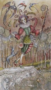 The Fool Tarot Card  - Paulina Tarot Deck