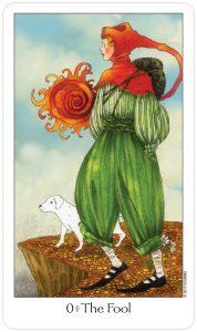 The Fool Tarot Card - Dreaming Way Tarot Deck