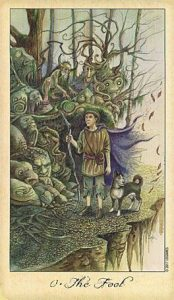 The Fool Tarot Card - Ghosts and Spirits Tarot Deck