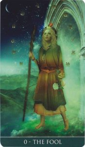 The Fool Tarot Card - Thelema Tarot Deck