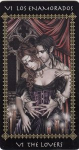 The Lovers Tarot Card  - The Favole Tarot Deck