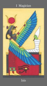Isis - The Magician Tarot Card - The Dark Goddess Tarot Deck