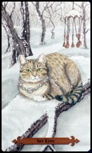 Sky King - Mystical Cats Tarot Deck