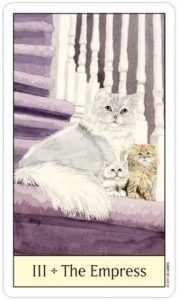 The Empress - Cat's Eye Tarot Deck