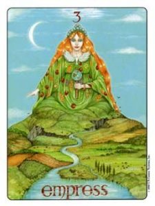 The Empress Tarot Card - The Gill Tarot Deck