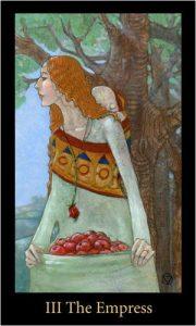 The Empress Tarot Card - The Mary-el Tarot Deck