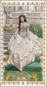 The Empress Tarot Card - The Romantic Tarot Deck