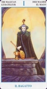 The Magician Tarot Card - Secret Tarot Deck