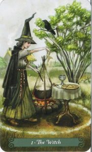 The Witch - The Magician - The Green Witch Tarot Deck