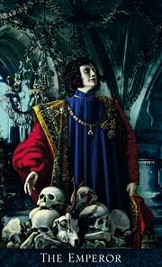 The Emperor Tarot Card - Bohemian Gothic Tarot Deck