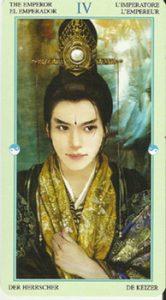 The Emperor Tarot Card - China Tarot Deck