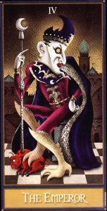 The Emperor Tarot Card - Deviant Moon Tarot Deck