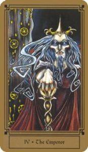 The Emperor Tarot Card - Fantastical Tarot Deck