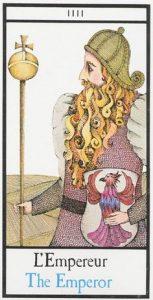 The Emperor Tarot Card - Maddonni Tarot Deck