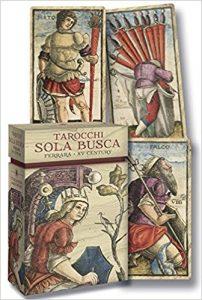 Tarot Sola Busca: Ferrara XV Century Cards