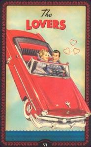 The Lovers Tarot Card - The Housewives Tarot Deck