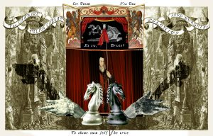 The Chariot - The Shakespeare Tarot Deck