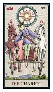 The Chariot - The Alchemical Tarot Renewed Fourth Edition