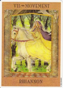 The Chariot - The Goddess Tarot Deck