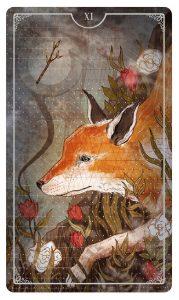 Page of Wands - Ostara Tarot Deck