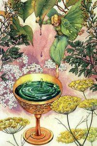 Temperance - Victorian Fairy Tarot Deck