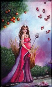 The Empress - Crystal Visions Tarot Deck