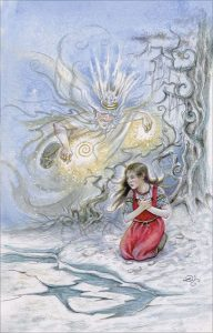 The Frost King - King of Pentacles - Fairy Tale Tarot