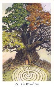 The World Tree - Wildwood Tarot Deck