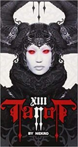 XIII TAROT CARDS - DARK TAROT DECK BY NEKRO